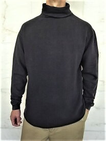 PORTER CLASSIC(ポータークラシック)【FRENCH THERMAL】TURTLE NECK★BLACK★