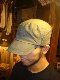 C-PLUS HEAD WEARS【LOUVER CAP】☆KHAKI☆