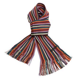 ♦ Matsui knit motor Museum-knit scarf adult purple