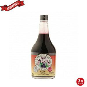 【ポイント最大4倍】カシス ジュース 発酵 シロップ ジャフマック 醗酵カシス飲料 565ml 2個セット