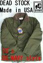 Made in USA アメリカ ビンテージ ヴィンテージ デッドストック アメリカ製 N-1 デッキ ジャケット 1980年代 新品 未使用品 希少カラー