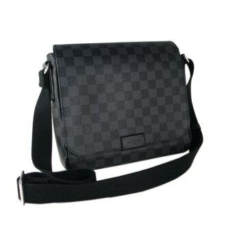 Louis Vuitton Louis Vuitton also shoulder bag Damier graphite district PM N41260 brand new authentic bag