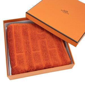 【新品】エルメス HERMES ハンドタオル カレタオル ラビリンス コットン100% オレンジ オランジュ フー H102776M 02 ハンカチ 32×32cm 純正箱入り CARRE EPONGE LABYRINTHE COTTON ORANGE FEU