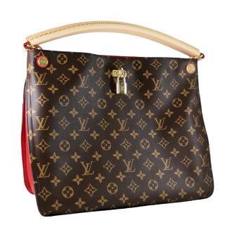 Louis Vuitton bag LOUIS VUITTON shoulder bag Gaia Monogram Cerise M41620