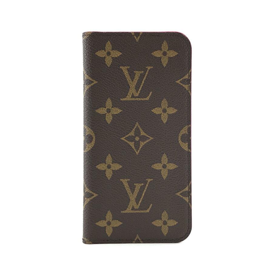 ルイヴィトン LOUIS VUITTON iPhoneケース IPHONE X & XS フォリオ アイフォンケース 二つ折り 手帳型ケース モノグラム ローズ M63444【ルイ・ヴィトン ヴィトン BOX 保存袋 紙袋付 新品】