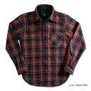 HV-40-UNION RED-HV40-DELUXEWARE-デラックスウエアシャツ-チェックシャツ-シャツ長袖-ヘビーネルシャツ【送料無料】…