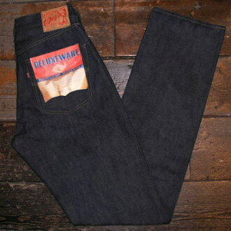 DX 066A-原直 066 A-DELUXEWARE-deluxwea 粗斜纹棉布牛仔裤 fs04gm