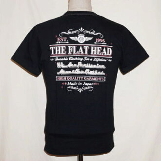 THC-174 - black - THE FLAT HEAD-THC174-FLATHEAD-flat head T shirt - THC system