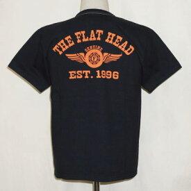 THC-202-BK-フラットヘッドTシャツ202-THC202-FLATHEAD-フラットヘッドTシャツ-THC系-THC【送料無料】【smtb-tk】【楽ギフ_包装】