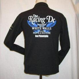 TMZ-01W-ブラックブラック-RACINGDC-TMZ01W-FLATHEAD-フラットヘッドTシャツ-【送料無料】【smtb-tk】【楽ギフ_包装】