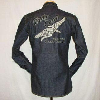 7001-SP08-special denim western shirt 08-7001SP08-FLATHEAD- flat head denim shirts