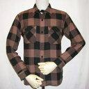 HN-52W-ブラウン-ヘビーネルシャツ52-HN52W-FLATHEAD-フラットヘッドシャツ【送料無料】【smtb-tk】【楽ギフ_包装】