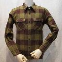 HN-52W-モスグリーン-ヘビーネルシャツ52-HN52W-FLATHEAD-フラットヘッドシャツ【送料無料】【smtb-tk】【楽ギフ_包装】