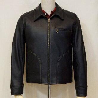 以前预订! SRJ-41KA-黑-鹿皮雷桑德斯 JKT41KA,钥匙圈与 SRJ 41KA-鲻鱼-平面头皮革服装和皮革夹克