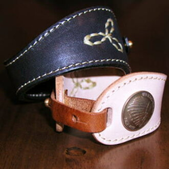 PEACEMAKER-WB2- peacemaker breath 2-PEACEMAKERWB2-REDMOON- red moon leather bracelet