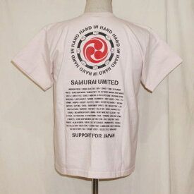 SJST19-HIH-PK-サムライジーンズクルーネック復興支援Tシャツ19-HIH-SJST19HIH-SAMURAIJEANS-サムライジーンズTシャツ-サムライTシャツ【smtb-tk】【送料無料】【楽ギフ_包装】
