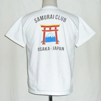 SCT17-101- white - samurai club short sleeves T-shirt 17-101-SCT17101-SAMURAIJEANS- samurai jeans T-shirt - samurai club T-shirt