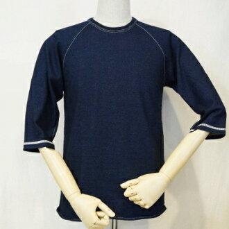 SJIT-104 M-靛蓝-武士牛仔裤靛蓝 / 7 短袖 T 衬衫 104 M SJIT 104 M-SAMURAIJEANS-武士牛仔裤 7 短袖 T 恤