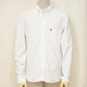 SJBD-L02- white - セルビッチオックス button-down shirt L02-SJBDL02-SAMURAIJEANS- samurai jeans shirt - button-down shirt