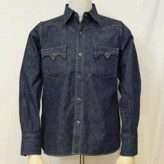 社会福利署-L01-靛蓝-denimwesternshatskamome L01-SWDL01-SAMURAIJEANS-武士牛仔裤西方衬衫
