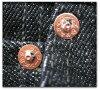 S5000BK- zero model black denim version-SAMURAIJEANS-samurai jeans denim jeans