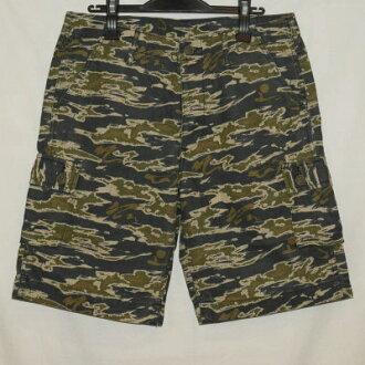 SCHM-SP16- writing brush camouflage cargo short pants 16-SCHMSP16-SAMURAIJEANS- samurai jeans short pants samurai club half underwear - shorts