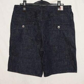 Previous preorders! SJBSP17-D-Indigo - denimbakershorts 17-SJBSP 17D-SAMURAIJEANS-Samurai jeans denim jeans - shorts - shorts