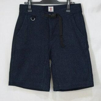 Previous preorders! SJSP17-SK-indigo - indigo undyed climbing shorts 17-SJSP 17SK-SAMURAIJEANS-Samurai jeans denim jeans - shorts - shorts