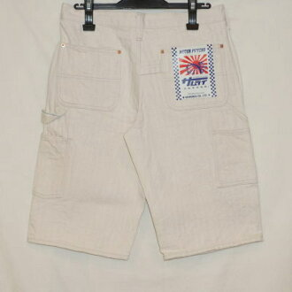 Previous preorders! SM 155DX-KHB-students consists of-kinalipeintershortpants - SM 155DXKHB-SAMURAIJEANS-Samurai jeansdenimjeans Samurai car club denim jeans - shorts - short bread