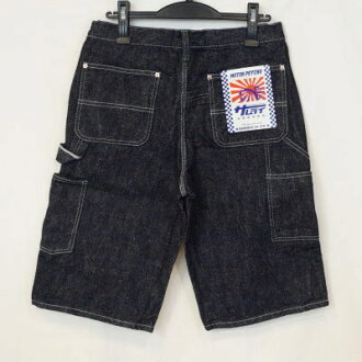 Under advance reservation acceptance! SM155DX17-D-17OZ denim painter short pants-SM155DX17D-SAMURAIJEANS-samurai jeans denim jeans samurai car club denim jeans - half underwear