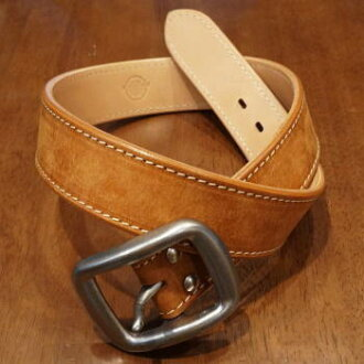 A109HS- Pueblo leather belt-SAMURAIJEANS-samurai jeans belt