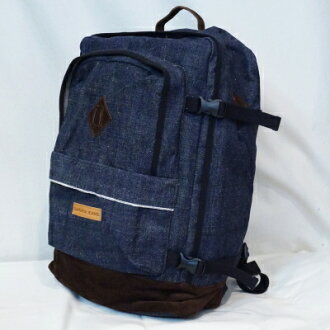 DB14-BP-denim backpack - DB 14BP-SAMURAIJEANS-Samurai jeans bag - Samurai jeans back pack - Samurai genes luck