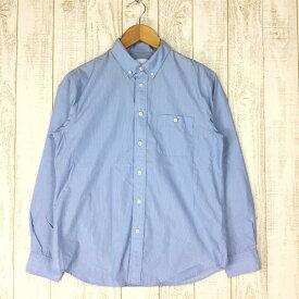【中古】【MEN's S】ノースフェイス ロングスリーブ ウォッシュバーン シャツ L/S Washburn Shirt NORTH FACE NR11609 ブルー系