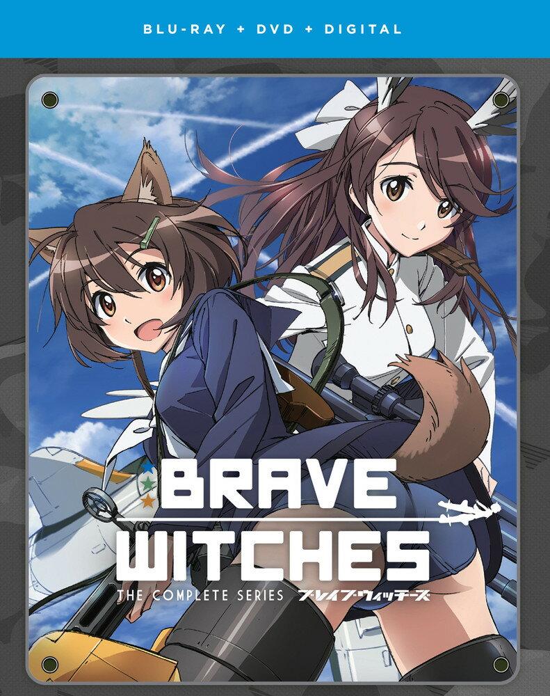 【予約】 ブレイブウィッチーズ 北米版 ブルーレイ+DVDセット【Blu-ray】