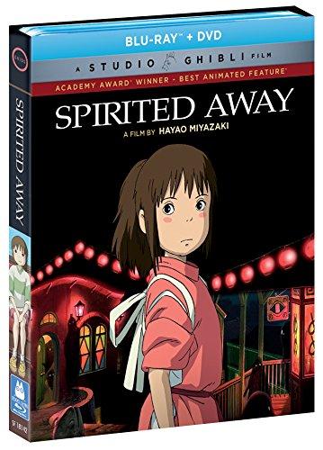 送料無料 千と千尋の神隠し/ SPIRITED AWAY 宮崎駿 ジブリの名作 お得なブルーレイ BD&DVD コンボボックス 北米版
