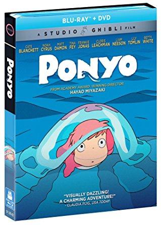 崖の上のポニョ ブルーレイ DVD 2枚組ボックス 宮崎駿 ジブリ 北米正規品