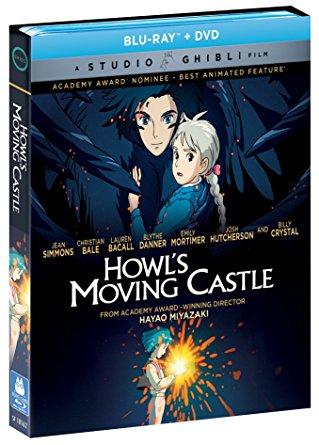 ハウルの動く城 ブルーレイ DVD 2枚組ボックス 宮崎駿 ジブリ 北米正規品