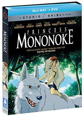 もののけ姫 ブルーレイ DVD 2枚組ボックス 宮崎駿 ジブリ 北米正規品