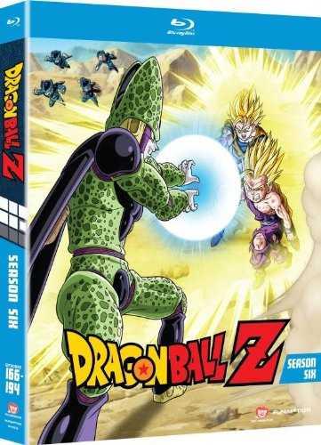 【取寄せ】 ドラゴンボールZ パート6 北米版 ブルーレイ【Blu-ray】