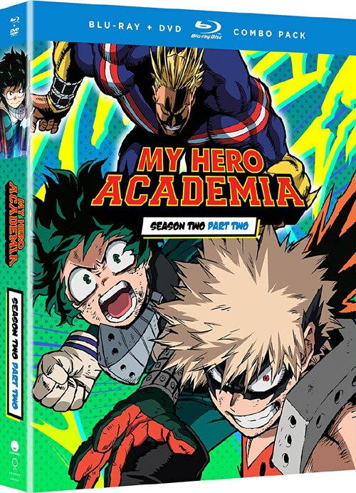 【取寄せ】 僕のヒーローアカデミア 第2期 vol.2 北米版 ブルーレイ+DVDセット【Blu-ray】