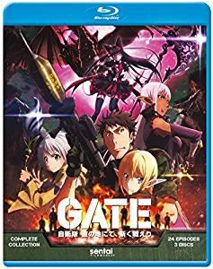 【取寄せ】 GATE ゲート 自衛隊 彼の地にて、斯く戦えり ブルーレイ【Blu-ray】 北米版
