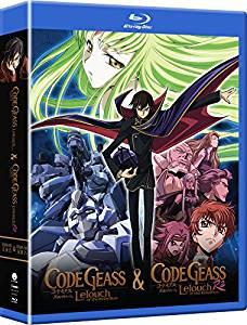 コードギアス 反逆のルルーシュ 第1+2期 ブルーレイ【Blu-ray】 北米版