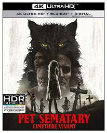 ペットセメタリー 2019 4K Ultra HDとブルーレイ【Blu-ray】 北米版
