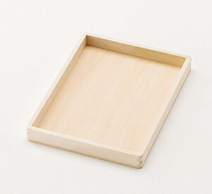 無塗装 ウッディートレイ 什器 店舗備品 日本製 木製 トレー お盆 配膳盆 パン屋 カフェ 天然木 国産