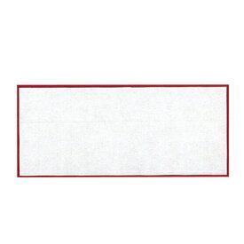 長角・小(100組入) 貼合せ 紅白懐敷 キッチン 日本製 かいしき 使い捨て食器 使い捨て皿 日本製 料理演出 和食料理 飲食店 ホテル 旅館