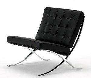 バルセロナチェア 【受注生産品 納期/約4ヶ月】リビングチェア レザー アームレス おしゃれ 高級感 デザイナーズチェア 椅子 北欧 モダン ミッドセンチュリー スペイン イタリア ヨーロピア