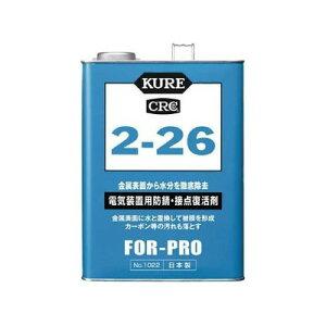 防錆・接点復活剤 KURE2−26 缶タイプ 3.785L NO1022