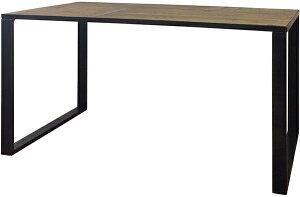 古材 ダイニングテーブル 単品 木製 4人掛け テーブル 幅140cm ダイニング 机 作業台 4人 食卓テーブル アイアンフレームレッグ インダストリアル ブルックリン 西海岸 男前インテリア アンテ