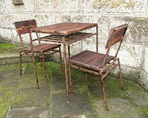 スクラップテーブル 単品 スチール コーヒーテーブル カフェ テーブル 机 おしゃれ モダン アンティーク
