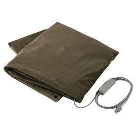 エレコム エクリアwarm/USBブランケット/オリーブカーキ HCW-B01GN